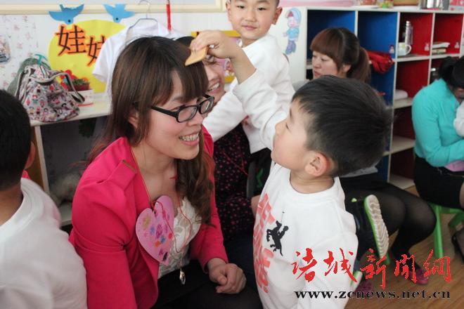 诸城市实验幼儿园开展母亲节主题教育活动