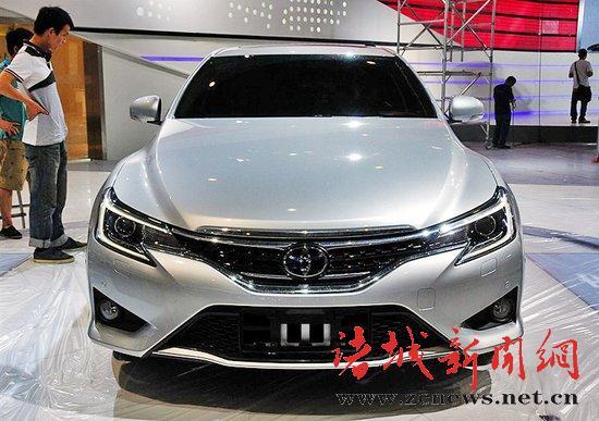 一汽丰田新款锐志9月9日上市